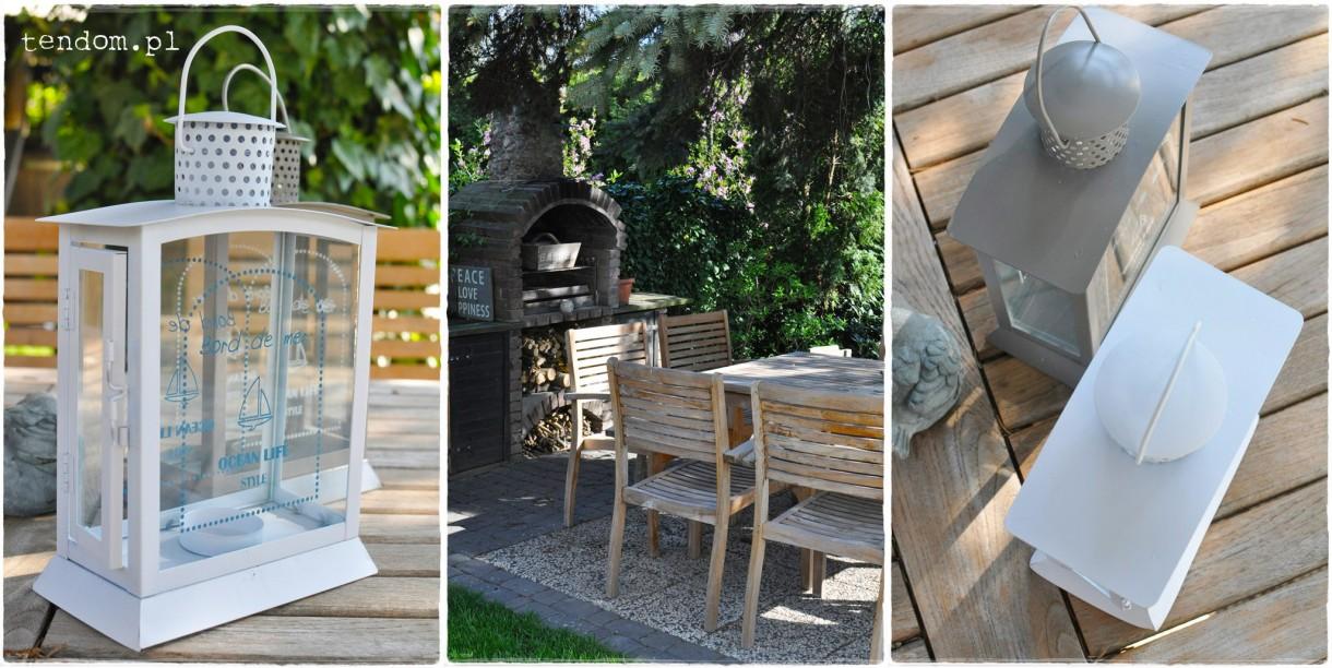 Pozostałe, Wiosna okiem tendom.pl, czyli niezwykły ogród Kasi - Lampiony Bord de Mer z tendom.pl