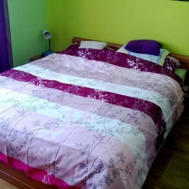 Sypialnia + groszkowy kącik