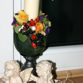 wieczór  z kwiatami