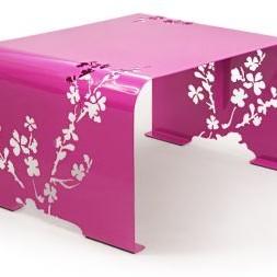 Ława Orient fuksja z kolekcji sklepu www.laskowscydesign.pl