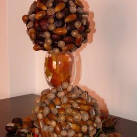 Jesienna dekoracja na stół i nie tylko