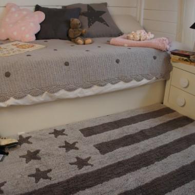Dywan dziecięcy Flag American Szary, Jeśli lubicie wnętrza wzorowane na stylu Amerykańskim to z pewnością ten dywan was zaciekawi :)