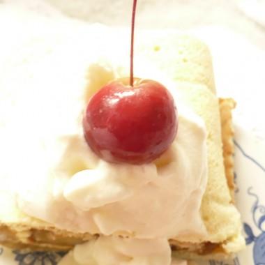 ............i rajskie jabłuszko niczym wisienka na torcie..........