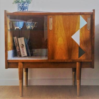 metamorfoza szafki z lat 60 DIY
