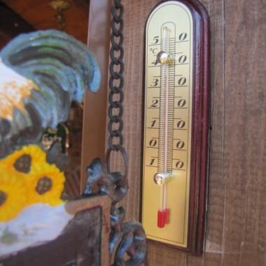 U mnie dziś termometr wskazywał właśnie tak.