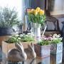 Salon, Wiosennie, świątecznie, delikatnie kwiatowo...
