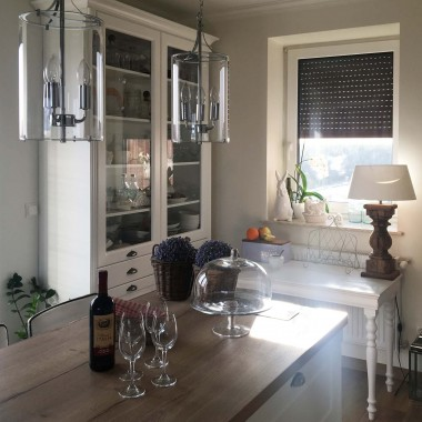 Zapraszam do swojej kuchni na lampkę wina:)