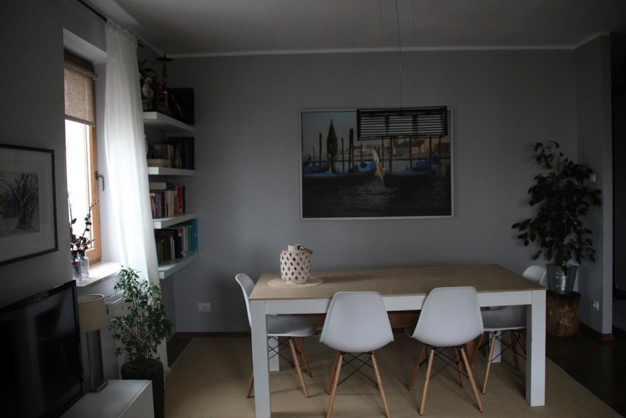 Salon, jesienny salon+kuchnia