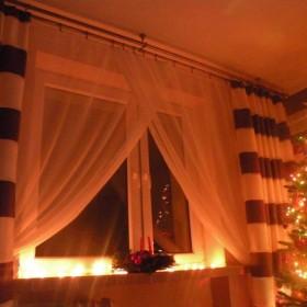Salon w świątecznej odsłonie...