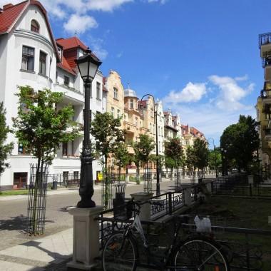 Ulica Hołdu Pruskiego po kompleksowej rewitalizacji.