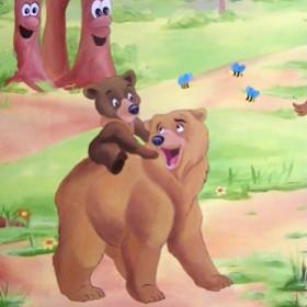 pokój dziecięcy - Mój brat niedźwiedź
