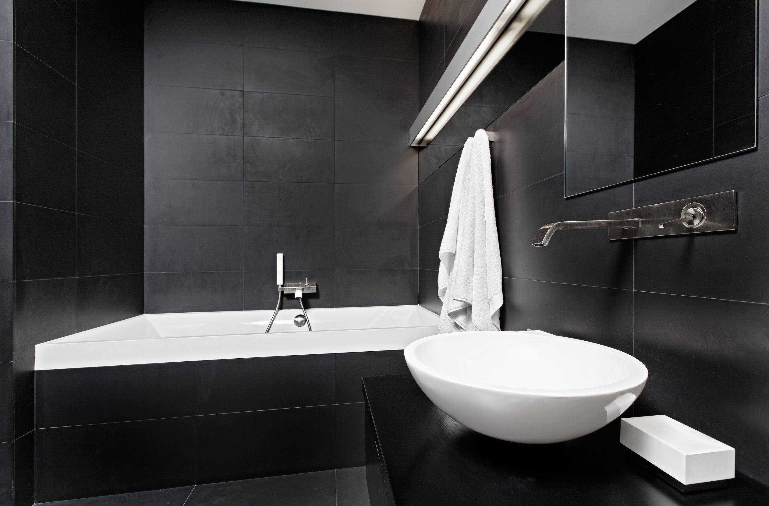 Czarna łazienka Tak Czy Nie Deccoriapl