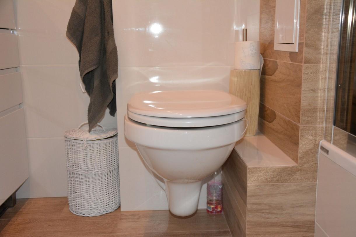 Łazienka, Dopieszczona łazienka :) - Moja ukochana wiklina...