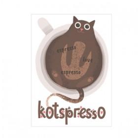 Kawa z kotem - kotspresso