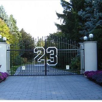 Michael Jordan w swoim domu