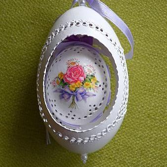Ażurki pisanki- jajka ażurowe od Justyny11