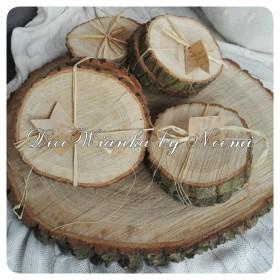 Plastry drewna:)