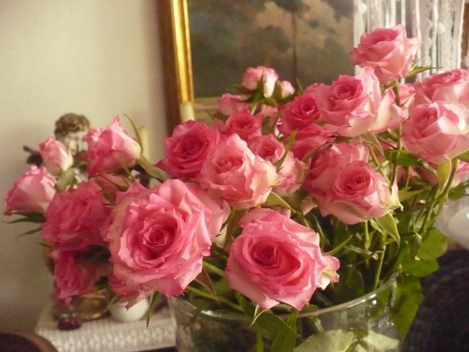 Pozostałe, Jeszcze październik............. - ...............róże dla domu.........