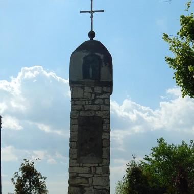 Przydrożna kapliczka przez mieszkańców wsi zwana Bożymanką