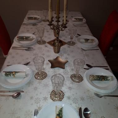 Stół wigilijny...