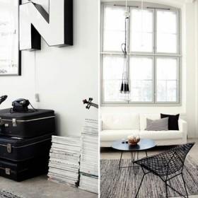 Czarny i biały