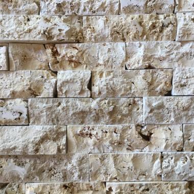 Tak może wyglądać ściana z regularnej cegiełki.
