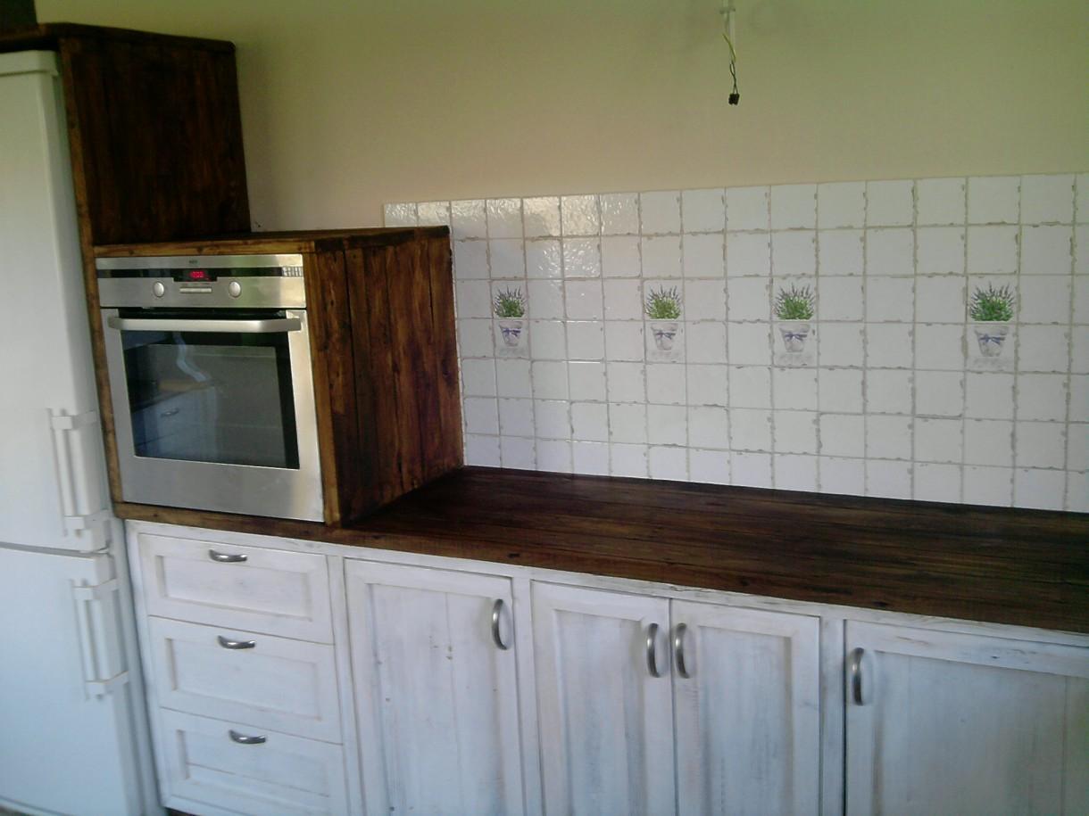 Zdjęcie 36 W Aranżacji Bielona Kuchnia Z Starej Deski