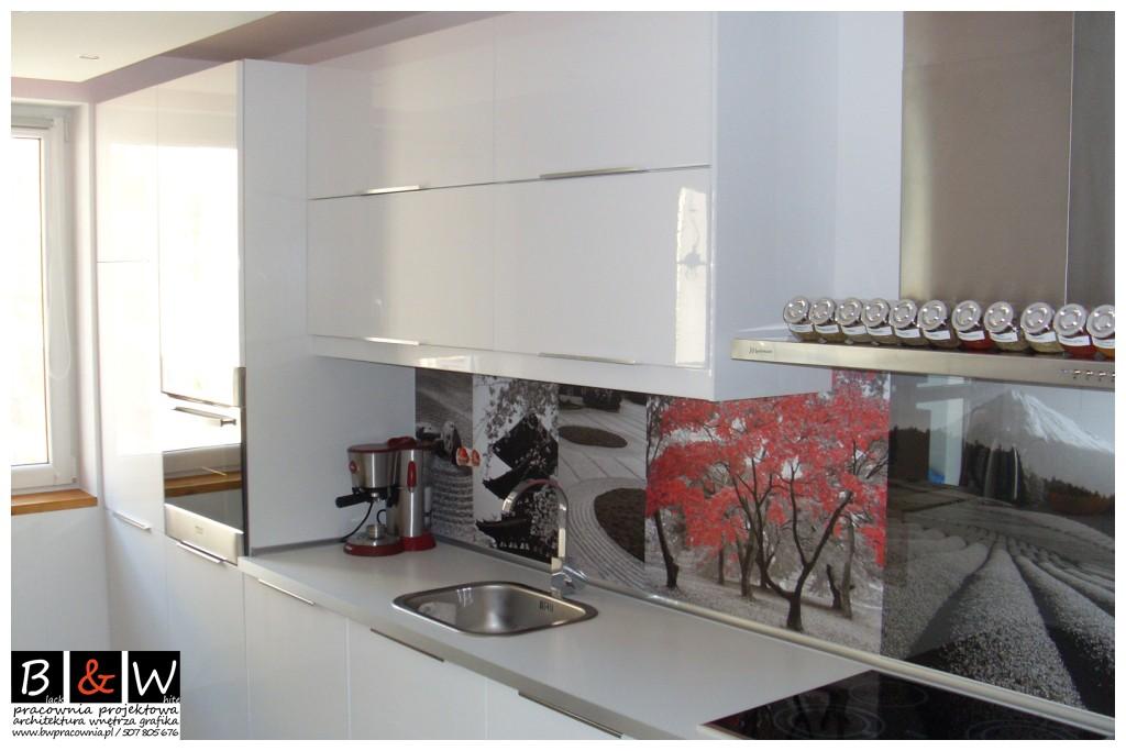 Kuchnia Ikea Abstrakt Biały Połysk Deccoriapl