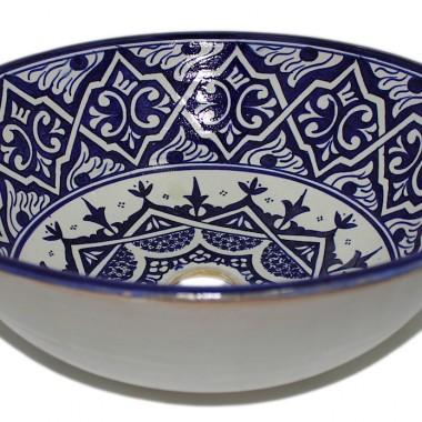 Marokańskie umywalki ceramiczne