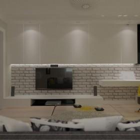 Mieszkanie bielą malowane