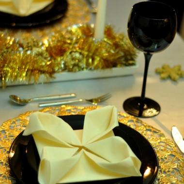 Dekoracje stołu świąteczne