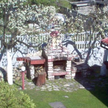 ogród i taras