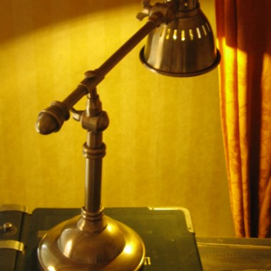LAMPA gabinetowa na biurko prezesa w stylu RETRO