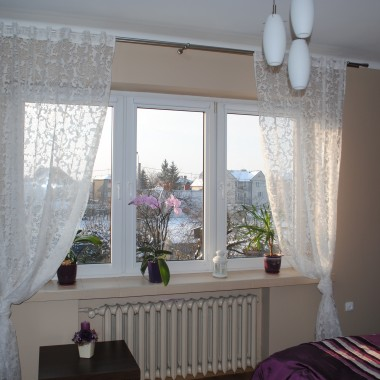 Nowa odsłona okna w sypialni :)