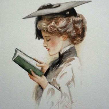 akwarelki namalowane wg Harrisona Fishera