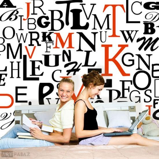 Pozostałe, dekoracje z literami, cytatami - dekoracje z literami