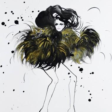 """Obraz na płótnie """"Haute couture"""""""