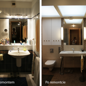 Łazienka - minimalne zmiany, maksymalny efekt