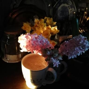 Kawa, herbata, może czekolada....woda?...