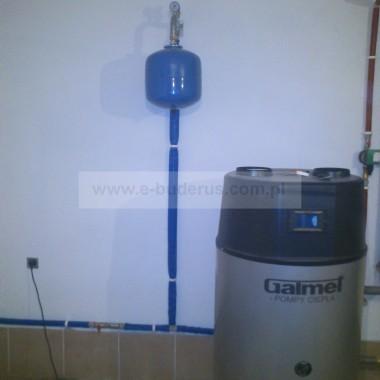 Montaż pompy ciepła firmy Galmet