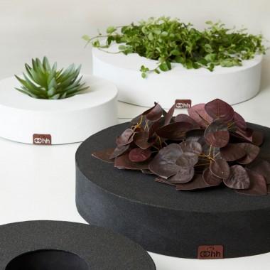 planBMisy florystyczne z kolekcji GRAN wykonanej z papieru imitującego wyglądem asfalt. Cena: 99-149 zł.