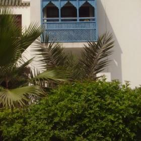 ....odpoczynek w ogrodzie egzotycznym......marocco....