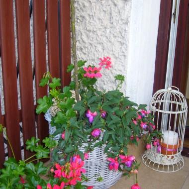Zapraszam na mój balkon - szumnie nazywany przez domowników tarasem, bardzo go lubimy.....Zapraszam!