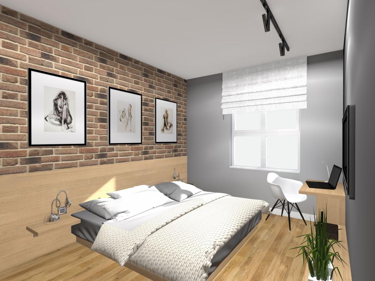 Sypialnia projekty