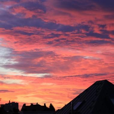 Kiedy we wtorek rano wstalam taki oto piekny widok cieszyl moje oczka:))
