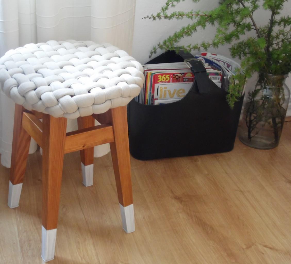 Pozostałe, Jak zmieniało się moje mieszkanie- konkurs - Krzesełko DIY