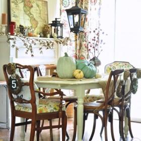 Galeria inspirowana jesiennymi barwami.
