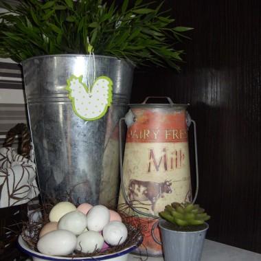 trochę wielkanocnych ozdób w mojej kuchni i pokoiku :)