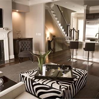Zebra w domu