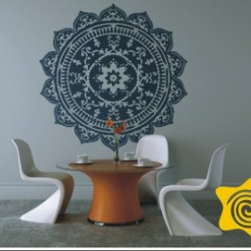 Naklejki dekoracyjne - kolekcja Rozety